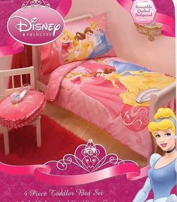 Where I buy Disney Princess Stories 4 Pc Toddler Bedding Set for sale