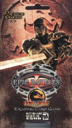 Epic Battles: Mortal Kombat Premier Starter Deck - 1