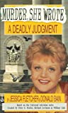 A Deadly Judgment (Murder She Wrote) (0451187717) by Fletcher, Jessica