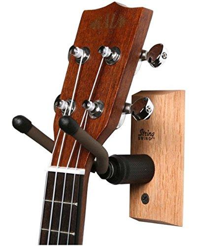 String Swing CC01UK-O Ukulele and Mandolin Wall Hanger - Oak