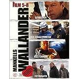 Wallander Collection 2 4-DVD Set ( Afrikanen / Den svaga punkten / Mastermind / Fotografen )by Krister Henriksson