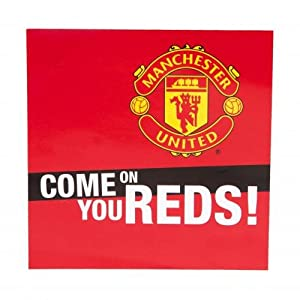 Amazon.com: Manchester United Fc - Come on You Reds Car Window Sticker
