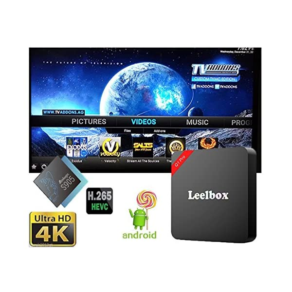 Leelbox-Q1-PRO-Android-TV-Box-Smart-TV-Box-Amlogic-S905X-64bits-2K4K-HDMI-20-Quad-Core-Android-60-1gb-RAM-8gb-Flash-Pr-install-Mme-avec-MXQ-PRO