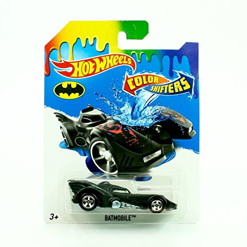Hot Wheels, 2016 Color Shifters, Batman Batmobile (Color Changing Hotwheels Cars compare prices)