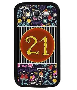 PrintVisa Metal Printed Numeric Designer Back Case Cover for Samsung Galaxy Grand Neo Plus I9060I-D4771