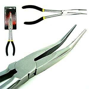 Nose Pliers with Long Handle
