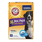 Arm & Hammer Extra Large Pet Training and Puppy Pads 22.5-inch by 30-inch, 36-Count Manufacturer:  Arm & Hammer
