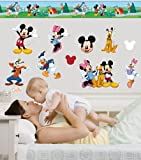 Disney Mickey & Friends Room Makeover Wall Decal Kit