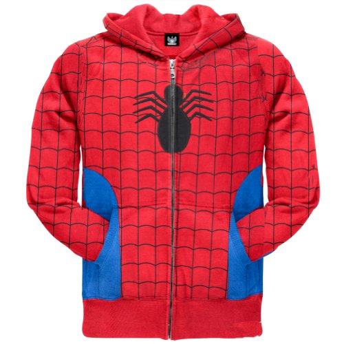 Old Glory Boys Spider-Man - Hidden Parker Costume Zip Hoodie