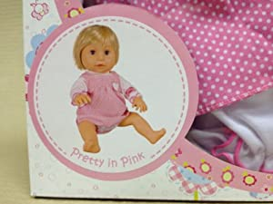 """Tiny Tears 15"""" Classic Pretty-in-Pink Outfit"""