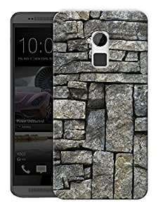 """Humor Gang Marble Pattern Printed Designer Mobile Back Cover For """"HTC ONE MAX"""" (3D, Matte, Premium Quality Snap On Case)"""