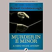 Murder in E Minor | Robert Goldsborough