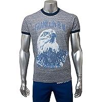 (フランクリンマーシャル) FRANKLIN&MARSHALL メンズ イーグル Tシャツ 39181 4199 106 GRAY グレー