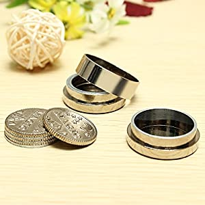 Dynamic Coins Self Working Moving Magic Trick Party Show Illusion Magic Props
