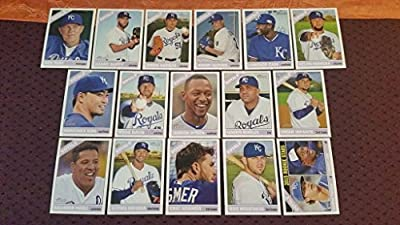 2015 Topps Heritage Kansas City Royals Master Team Set Including HIGH SERIES (20 Cards Total) - Ned Yost,Danny Duffy,Jason Vargas,Jeremy Guthrie,Lorenzo Cain,Kelvin Herrera,Norichika Aoki,Wade Davis,Jarrod Dyson,Kendrys Morales,Omar Infante,Salvador Perez