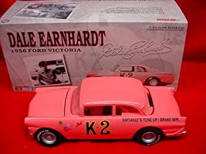 Clear Window Bank CWB Dale Earnhardt 1956 K-2 K2 All Pink Error Car Ford Victoria Limited Edition Clear Window Bank CWB 1/24th Scale. Hood Opens, Action Racing Collectables Car of America Action RCCA