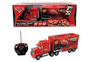 Majorette - 213089535 - Radio Commande Véhicule Miniature - Cars 2 - RC Mack Truck