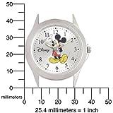 Ewatchfactory Men's 5096730026 Disney Mickey Mouse Silver Sunray Dial Watch