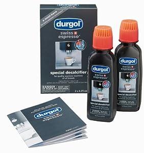Order Durgol Swiss Espresso Special Decalcifier, Pack of 2, 4 x 125 ml - Durgol swiss Espresso
