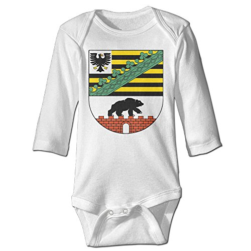[Coat Of Arms Crest Germany Cute Boy And Girl Baby Climb Clothes White] (Dances With Wolves Costumes Designer)