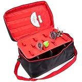 DELUXE CHARACTER FIGURE STORAGE BAG (Disney Infinity) Black / Red - (PS3/Xbox 360/Wii U/3DS)