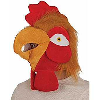 Chicken face mask - photo#26