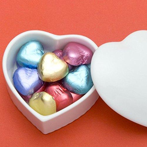100pcs Papier Aluminium Feuille Emballage pour Chocolat Bonbons - Or, 8cm x 8cm