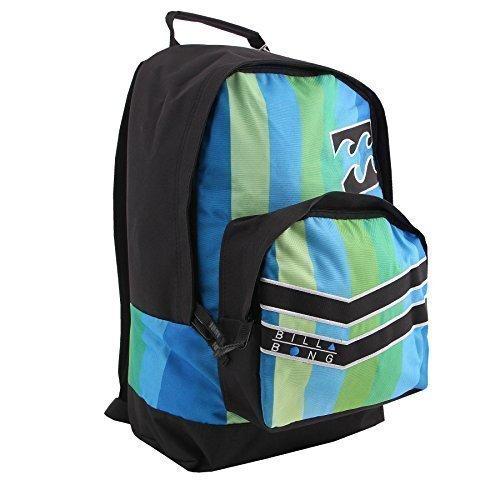 Billabong zaino/ borsa per laptop messenger zaino per scuola e viaggio - Antako Green, Misure: in cm: H 43x L 35x P 15 cm, poliestere