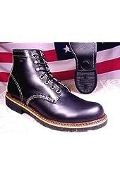 Thorogood Men Black USA Made Classic Americana Boot 814 6532