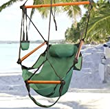 Hammock-This is the hammock chair-patio furniture-Color Green-Durable long lasting weather resistant construction-Swing holds up to 250 lbs-Perfect for indoor or outdoor use-100% Thrilled Customer Guarantee!