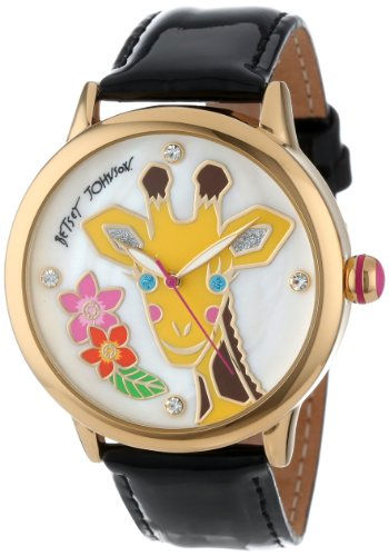 Betsey Johnson Women's BJ00084-26  Analog Giraffe Graphic Dial Watch