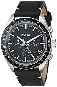 Fossil Men's CH2921 Analog Display Analog Quartz Black Watch