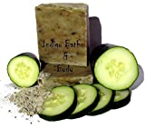 Green Goddess - Cucumber & French Green Clay Facial & Body Soap