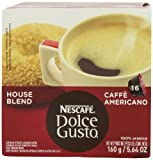 Nescaf Dolce Gusto for Nescaf Dolce Gusto Brewers, Caff Americano (House Blend), 16 Count (Pack of 3)