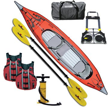 Advanced Elements Advanced Frame Convertible Inflatable Kayak Package