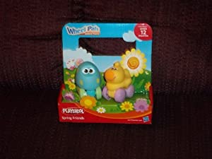 Playskool Wheel Pals Animal Tracks Spring Friends Egg and Chick
