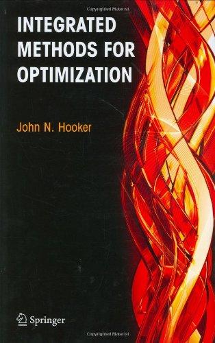 Integrated Methods for Optimization (International Series...