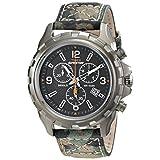 Timex Men's T499879J Expedition Rugged Chrono Analog Display Analog Quartz Green Watch