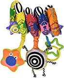 Manhattan Toy Whoozit Lights and Sound Spiral Stroller and Travel Activity Toy