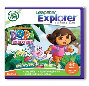 Dora the Explorer Leapfrog Leapster Explorer Learning Game