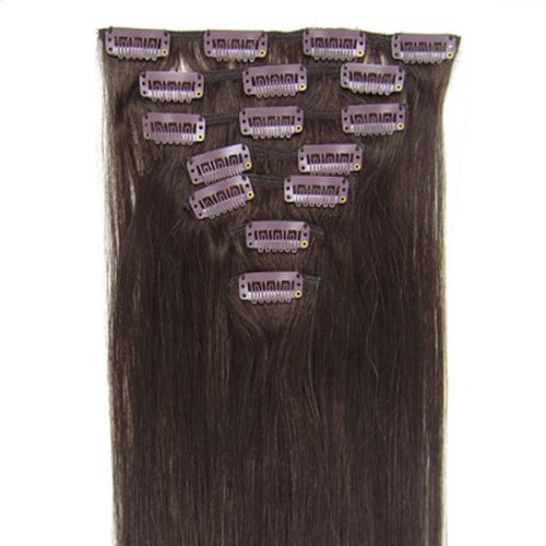 Hair Extensions 24 Colors for Women Beauty Hot Sale #02dark brown