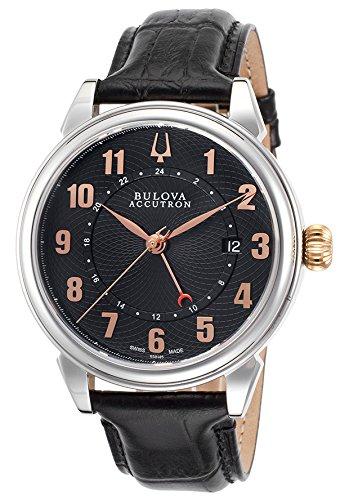 Price Comparisons Bulova Accutron Gemini Men's Automatic Watch 65B145