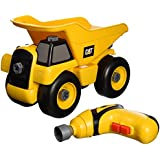 Toysmith Caterpillar Cat Take A Part Dump Truck