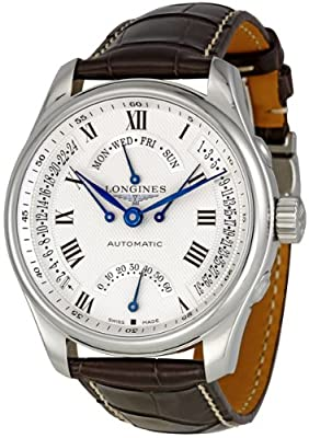 Longines Master Collection Silver Dial GMT Automatic Mens Watch L27174713