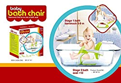 Toys Bhoomi Safe and Secure Non-Slip Baby Bath Seat