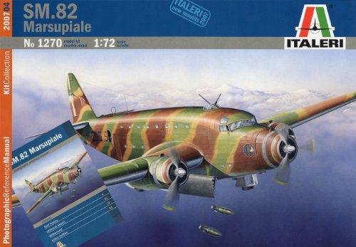 Italeri 1/72 Savoia Marchetti SM.82 Marsupiale #