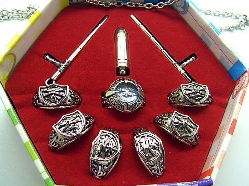 Ctmweb Katekyo Hitman Reborn Set Of 7 Vongola Metal Rings With