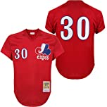 Mitchell & Ness Mens 1989 Montreal Expos Tim Raines #30 Mesh Batting Practice... by Mitchell & Ness