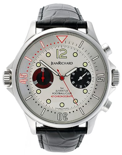 JeanRichard Chronoscope Juventus Football Club Men's Watch 22020-11-12A-AA6DBW
