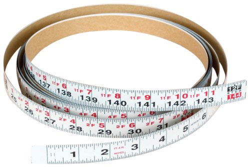 Biesemeyer 79-065 12 foot Right 3/4-Inch English Adhesive-Backed Measuring Tape